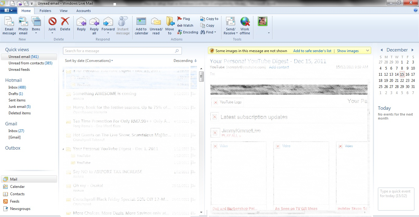 How to setup multiple email accounts in Windows Live Mail?