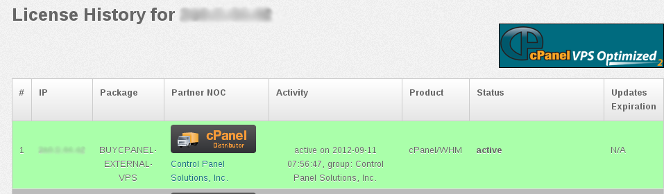 How to activate cPanel license of your server | IPSERVERONE