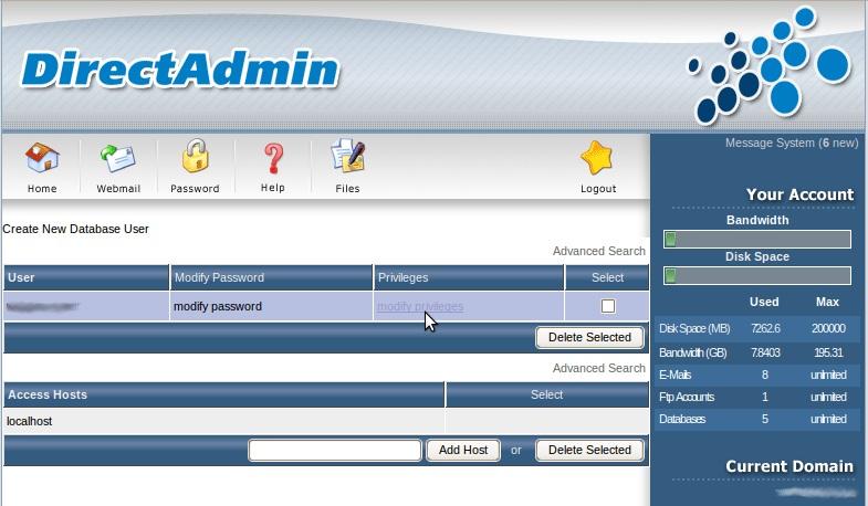 mysql how to set user password