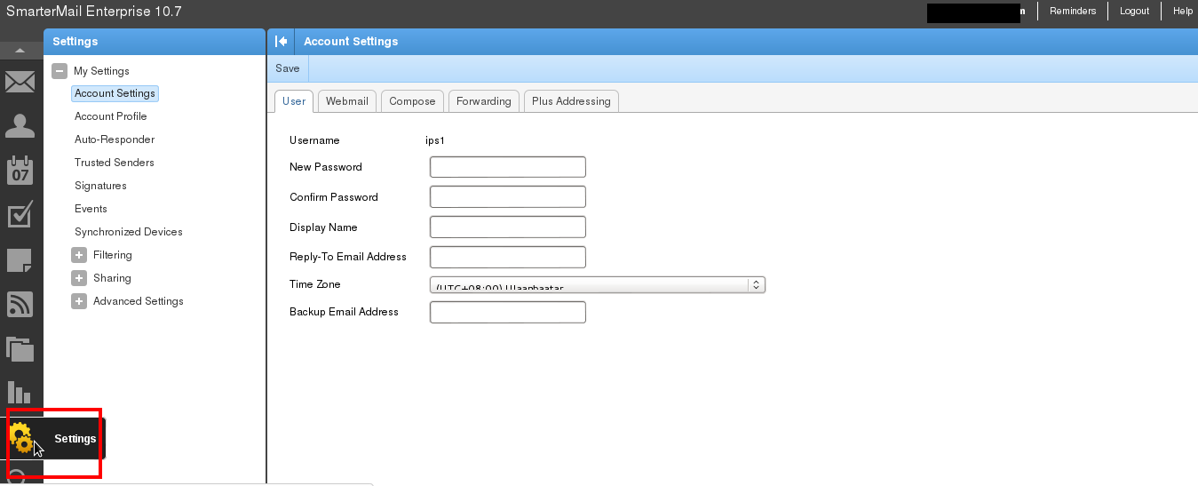 How To Whitelist Email Address Or Domain In SmarterMail
