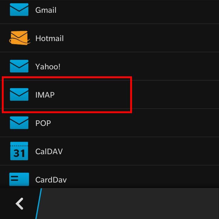 blackberry how to stop email from one accounts