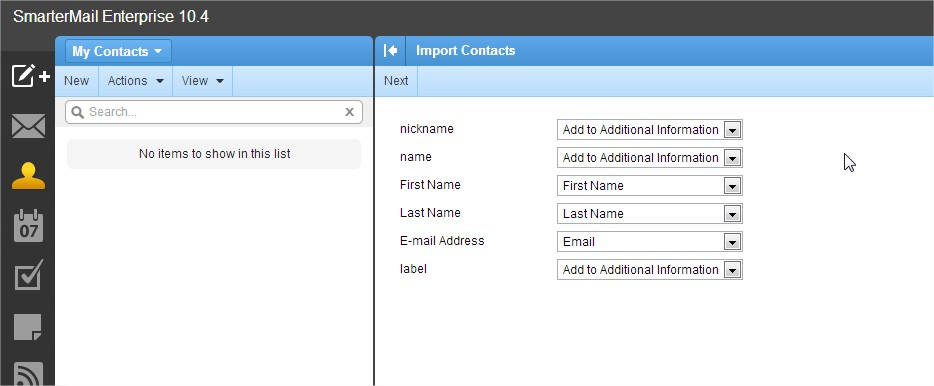 how to add contact to email address book