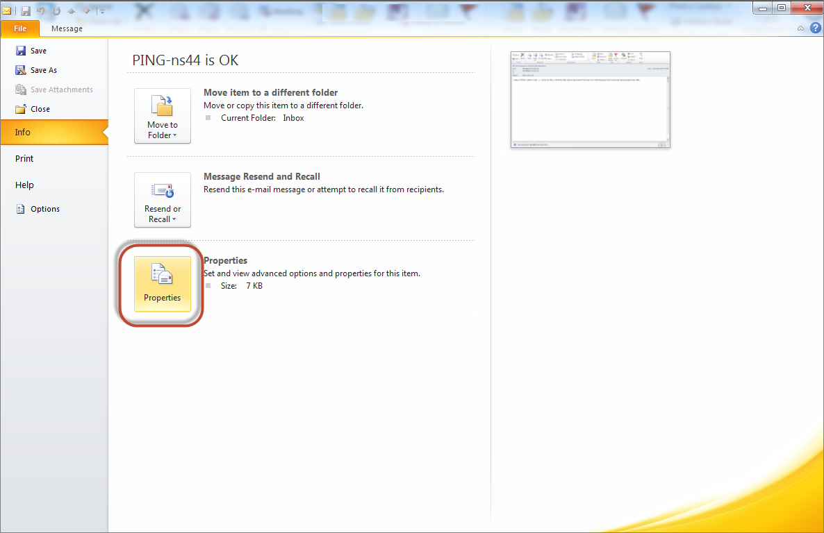 how to change email view in outlook 2010