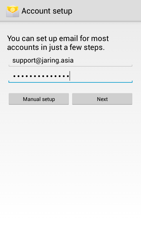 server error in application on android