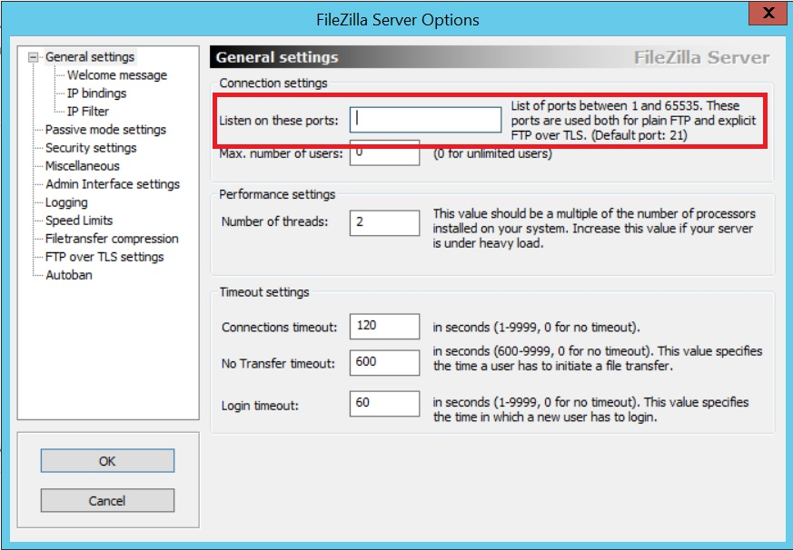 how to create ftp server using filezilla