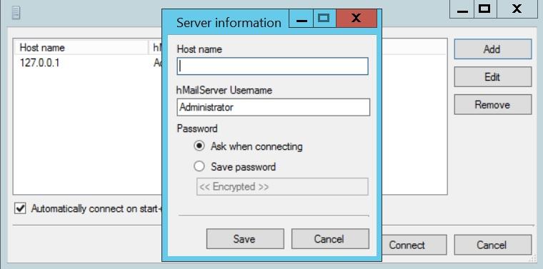 Add Mail Service in WebsitePanel using hMailServer | IPSERVERONE