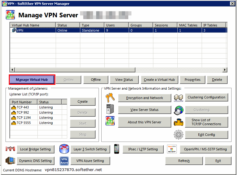 How To Add User in SoftEther VPN Server | IPSERVERONE