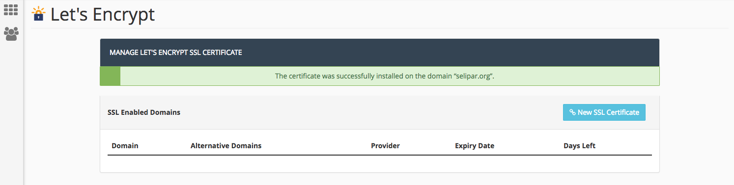 How To Install Lets Encrypt Ssl Certificate In Cpanel Ipserverone