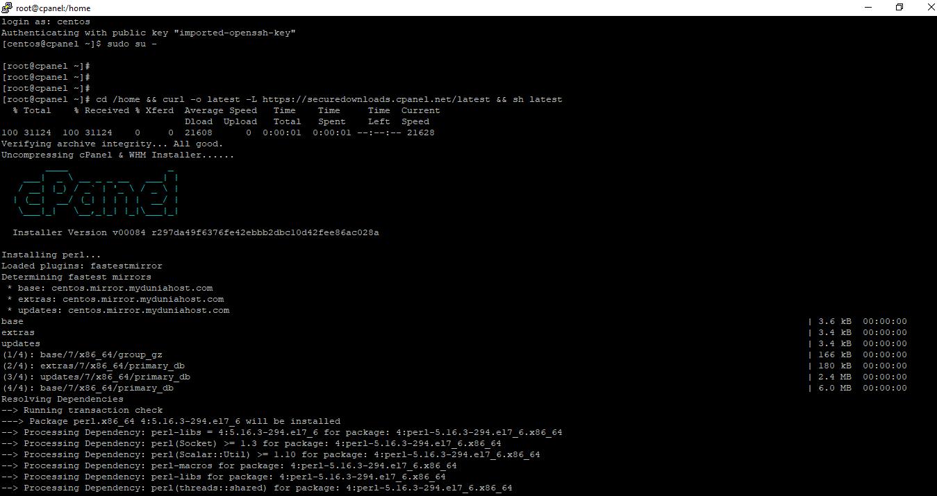 How to Install cPanel on CentOS 7   IPSERVERONE
